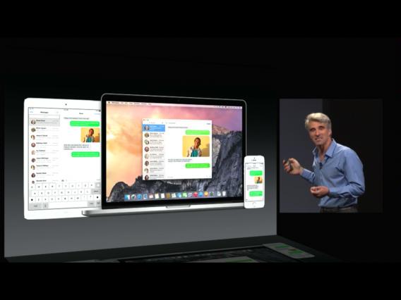 WWDC 2014: Apple hat OS X 10.10 Yosemite mit neuem Design im Stil von iOS 7 vorgestellt
