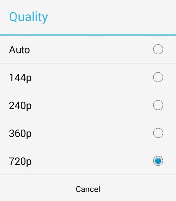 YouTube: Update der Android-App erlaubt das Anpassen der Streaming-Qualität
