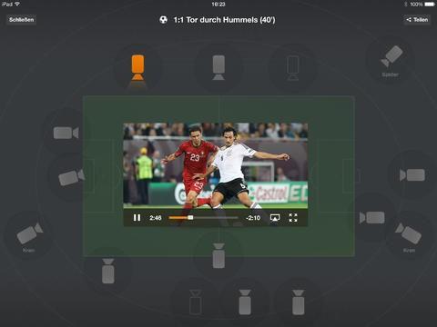 ZDF Mediathek: Update für iOS mit neuen Funktionen zur Fußball-Weltmeisterschaft 2014