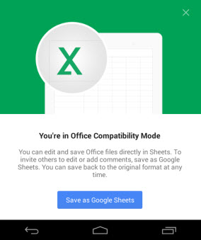 Modo de compatibilidade de arquivo
