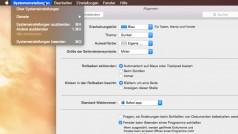 So aktivieren Sie den neuen Dark Mode in OS X Yosemite