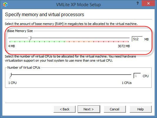 Indiquer le volume de RAM