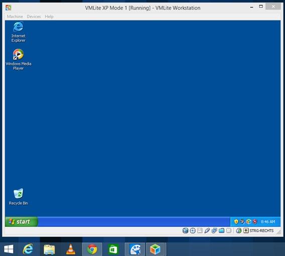 Retrouver l'environnement XP pour exécuter ses anciens logiciels