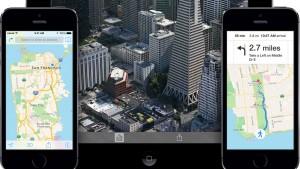 Apple Maps: Web-Version des Kartendienstes und Routenführung mit Google Maps unter iOS 8