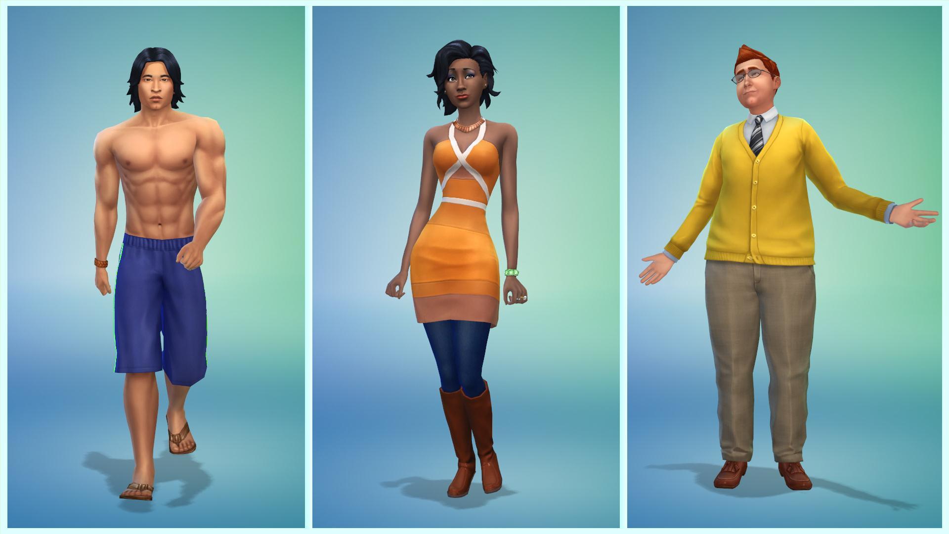 Die Sims 4 Ein Video Zeigt Die Demo Der Erstelle Einen Sim Funktion