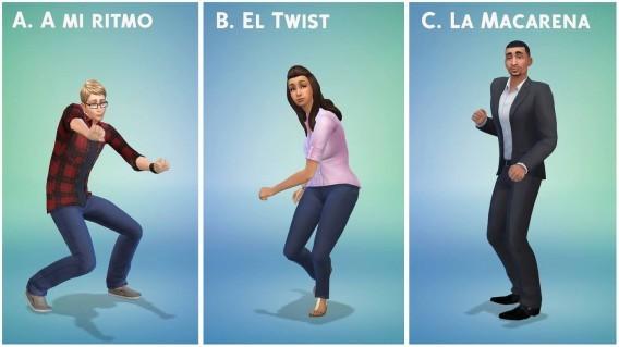 Die Sims 4: Erstelle einen Sim-Funktion zeigt Kleidungsstile und Tanzarten der Spielfiguren