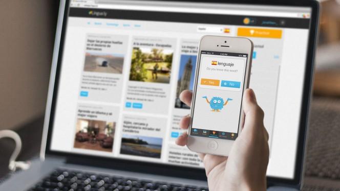 Lingua.ly: Die App zum Sprachen lernen mit Internet und sozialen Medien jetzt auch für iOS