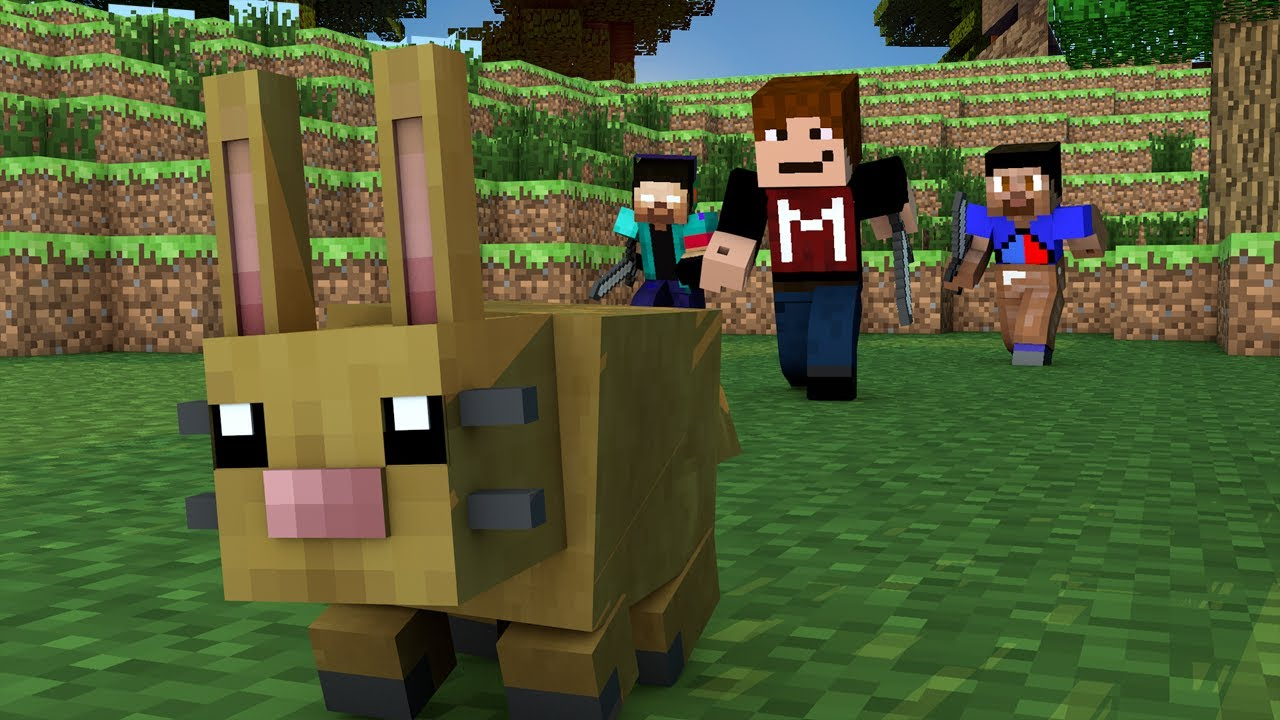 Minecraft Mojang Eröffnet Die KaninchenJagd Im Spiel - Minecraft spiele ausprobieren