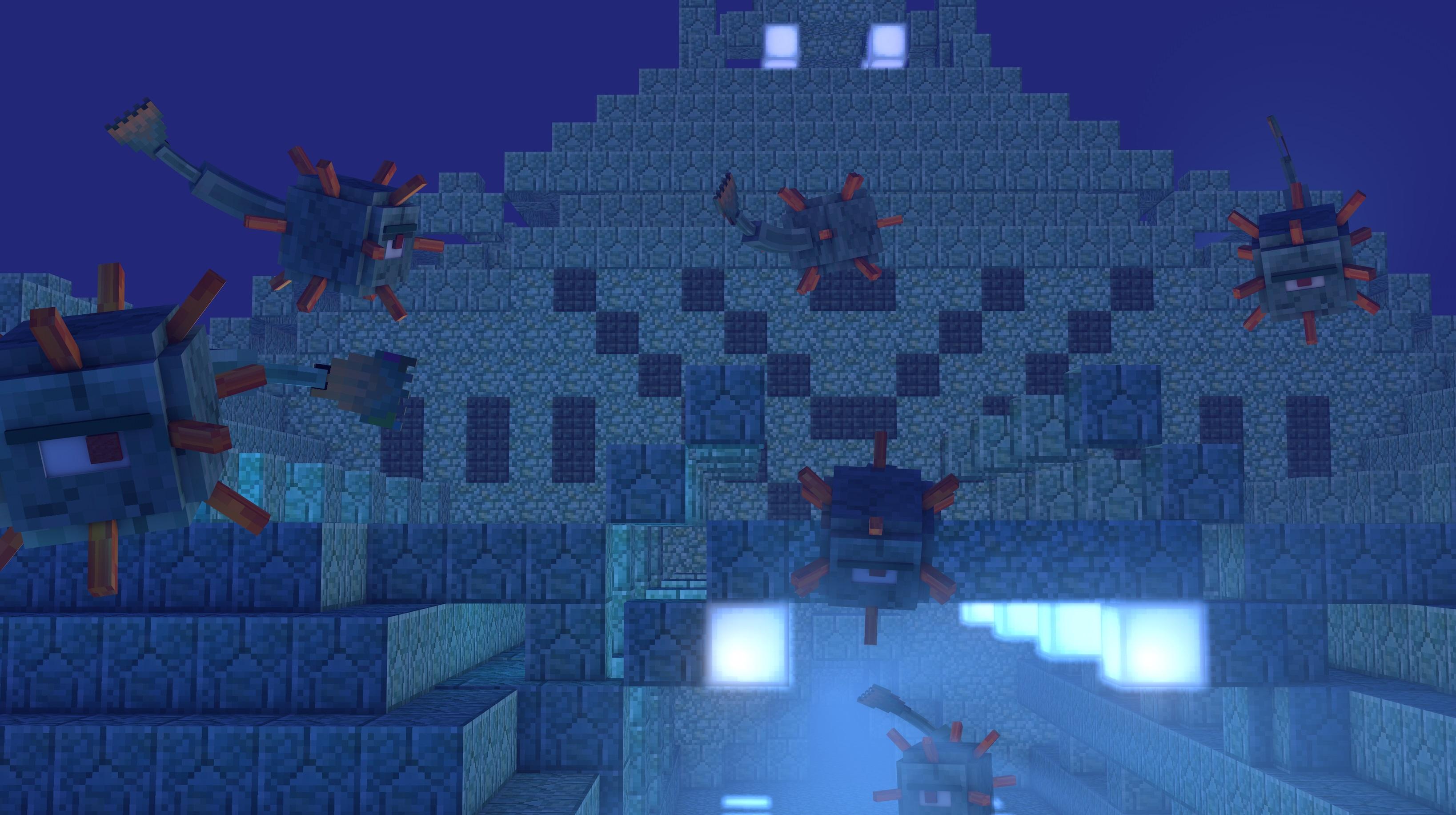 Minecraft Mojang Erschließt Die UnterwasserWelt Mit Dungeons - Minecraft namen andern mojang