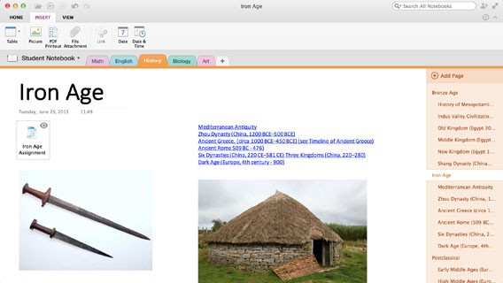 OneNote: Update für iOS und Mac erlaubt das Einfügen von Microsoft Office-Dokumenten