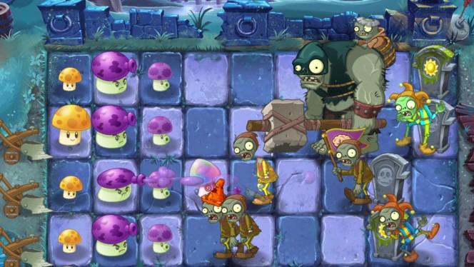 Plants vs. Zombies 2: Zweites Mittelalter-Update The Dark Ages mit neuen Leveln und magischen Monstern
