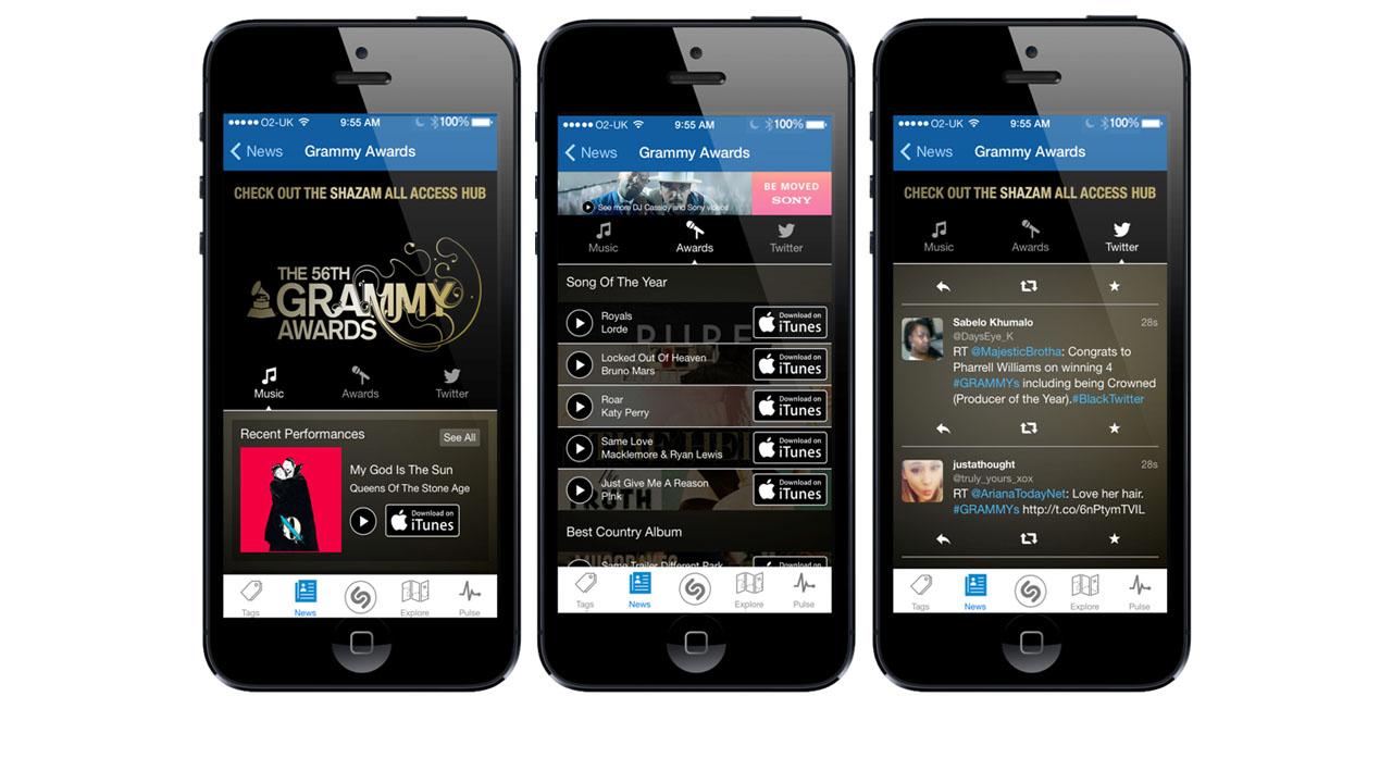 Shazam integriert Rdio zum Abspielen erkannter Musiktitel