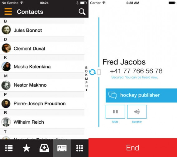 Signal und RedPhone: Verschlüsselte Telefongespräche zwischen iPhone und Android
