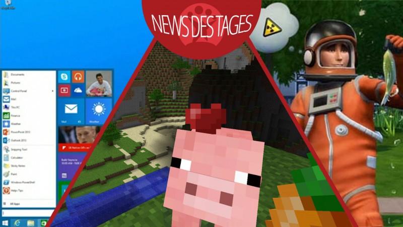 News des Tages: Windows 9, Werbeblocker Ad Muncher kostenlos, Update für Minecraft Pocket Edition
