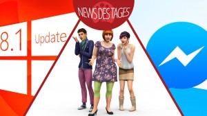 News des Tages: Windows-Update, Facebook Messenger für iPad, Die Sims 4-Demo