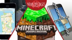 News des Tages: Android-Sicherheitslücke, Apple Maps, Minecraft - Pocket Edition