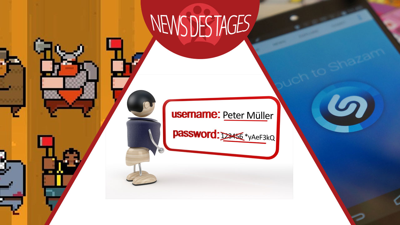 News des Tages: Sicherheitslücke in Passwort-Managern, Shazam-Update, Timberman