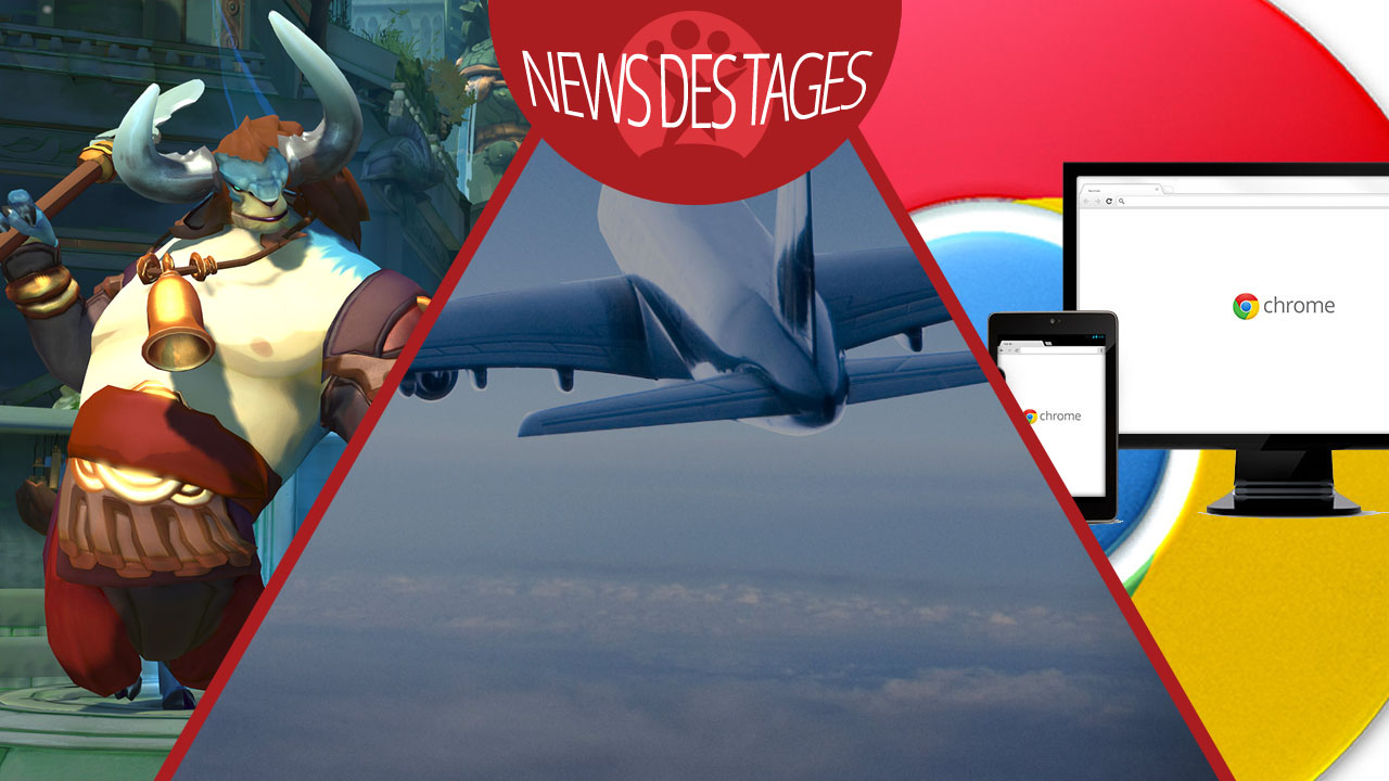 News des Tages: Chrome-Update, Flugsuche mit Lonely Planet, Gigantic