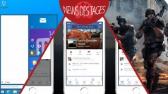 News des Tages: Windows 9 Start-Menü, Facebook Speichern-Funktion, Modern Combat 5