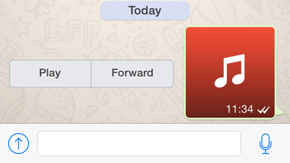 Whatsapp Audio Versenden