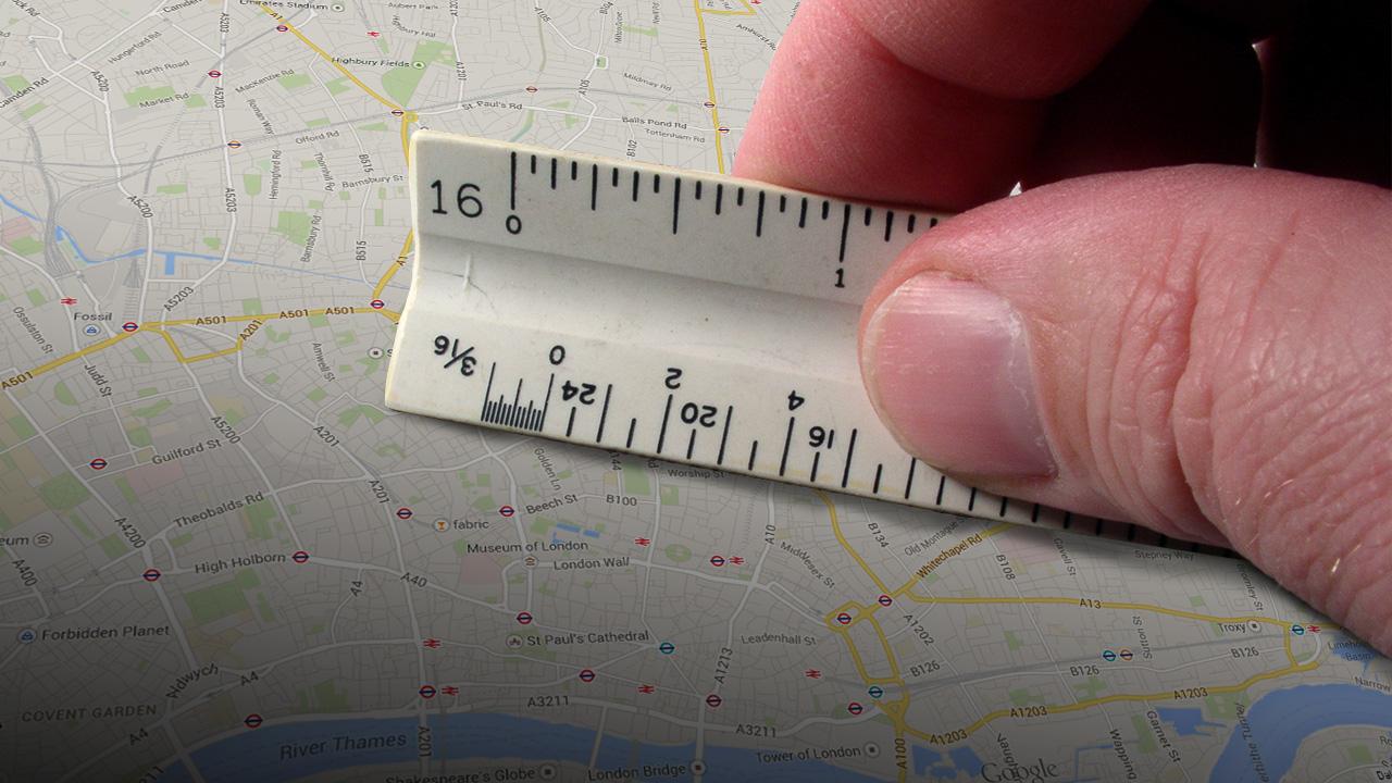 Entfernungsmesser Maps : Das neue google maps so messen sie entfernungen und flächen