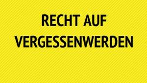 Google Suchergebnisse: Deutsche stellen 16.500 Recht auf Vergessenwerden-Anträge