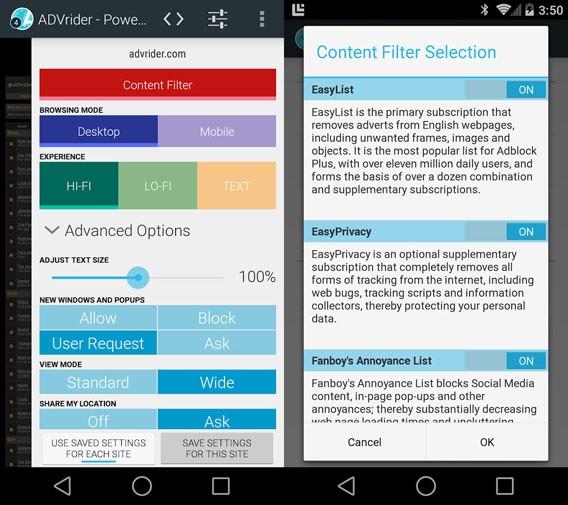 Surfen ohne Werbung: Atlas für Android ist kostenloser Browser mit Werbeblocker und Schutz der Privatsphäre