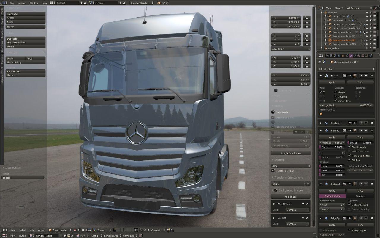 Euro Truck Simulator 2: Neuer Actros-Truck mit Lizenz von Mercedes-Benz in Arbeit