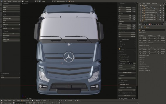 Euro Truck Simulator 2: Neuer Mercedes-Benz Actros Truck in Arbeit
