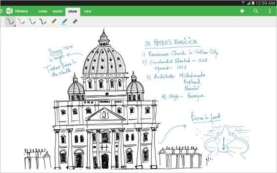 OneNote: Microsoft aktualisiert die Notiz-App mit verbesserter Handschrifterkennung und Oberfläche für Android-Tablets