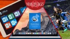 News des Tages: Shazam für Mac OS X, Office für iPad, FIFA 15-Trailer