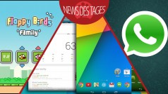 News des Tages: WhatsApp Messenger, Google Now Launcher, Flappy Birds Family