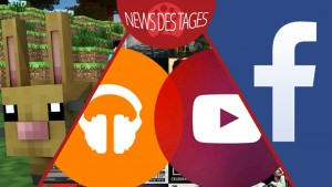 News des Tages: YouTube Music Key, Facebook Kommentar-Sticker, Minecraft