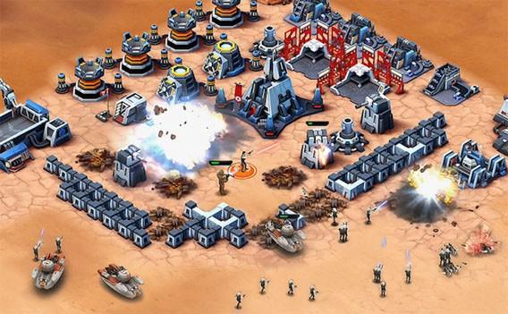 Star Wars: Commander: Das kostenlose Aufbauspiel will Clash of Clans schlagen