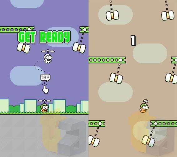 Swing Copters: Das neue Spiel des Flappy Bird-Entwicklers hebt am 21. August 2014 ab