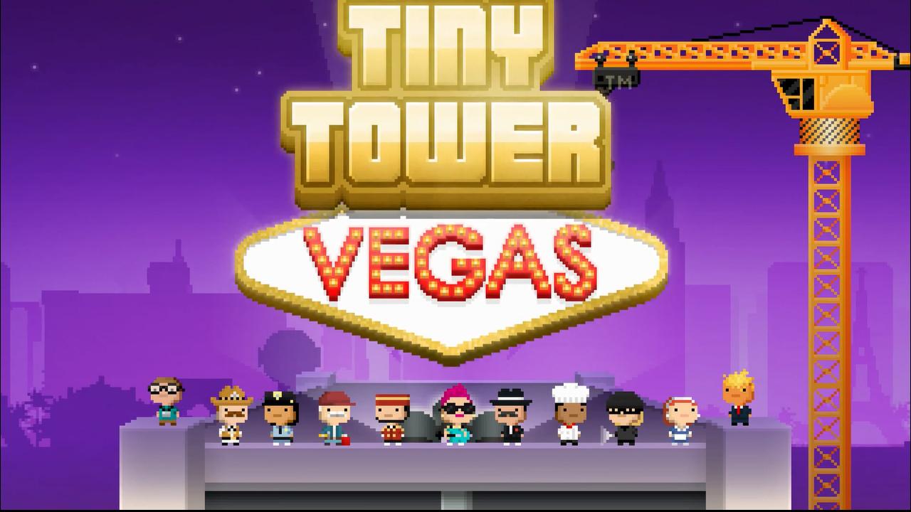 Tiny Tower Vegas: Das kostenlose Aufbauspiel in der Glücksspiel-Variante