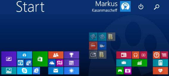 Organiser ses applis grâce au défilement horizontal sur Windows 8
