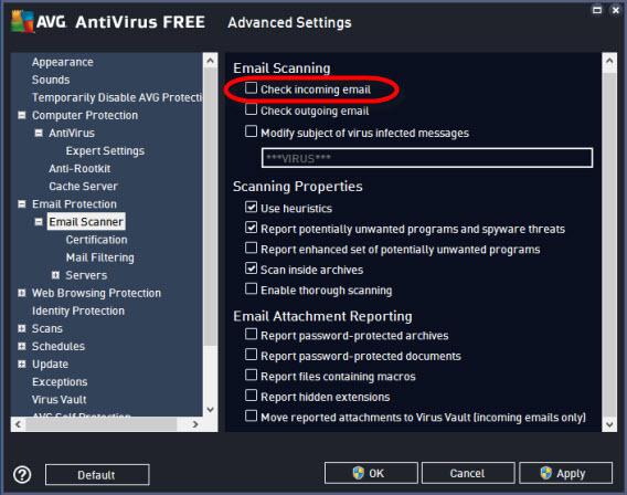Proteções para quem usa programas de e-mail no Windows