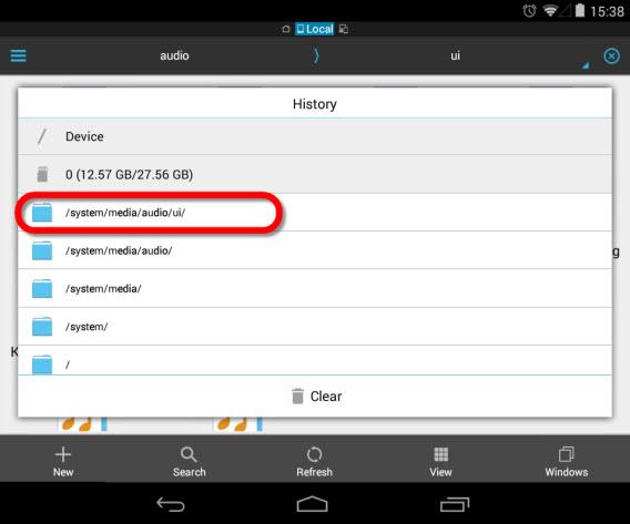 Les sons des notifications spéciales d'Android