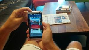 Screenshots auf dem Android-Smartphone machen