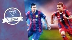 FIFA 15 gegen PES 2015: Zweikampf um den Titel der besten Fußball-Simulation des Jahres
