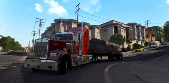 American Truck Simulator: Los Angeles and San Francisco als neue Metropolen