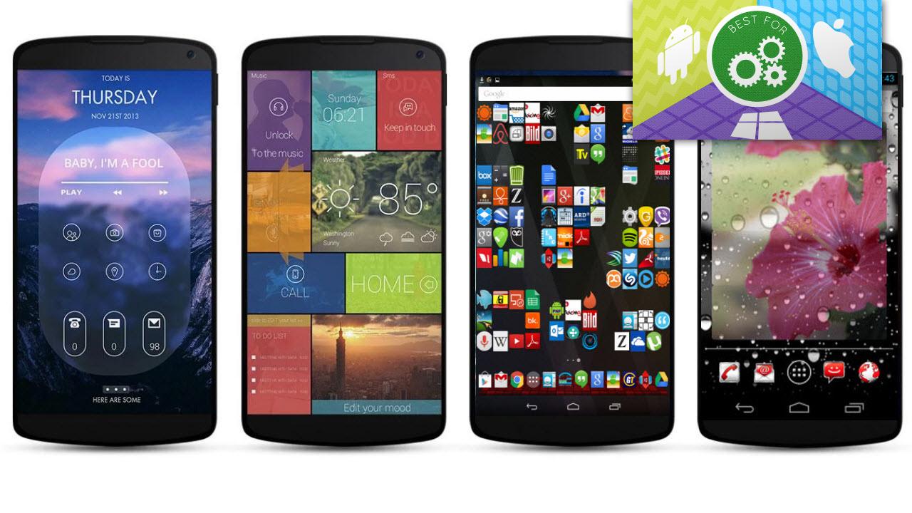 android ganz individuell diese apps geben ihrem smartphone eine pers nliche note. Black Bedroom Furniture Sets. Home Design Ideas