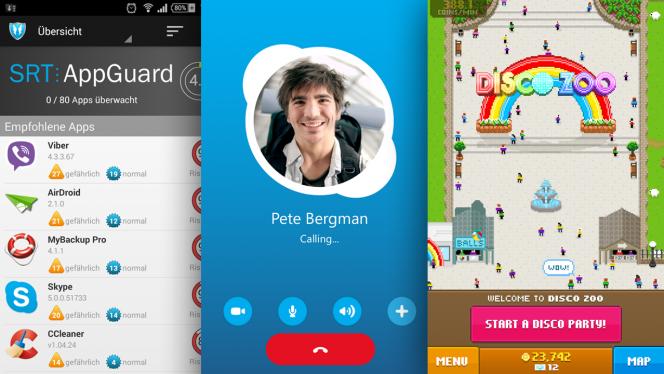 Android-Downloads der Woche: Skype-Update, volle App-Kontrolle und tanzende Tiere