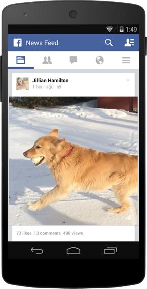 Facebook führt einen Klick-Zähler für öffentlich geteilte Videos ein