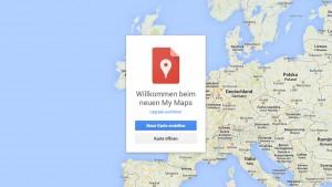 Google Maps: My Maps bringt die Funktion Meine Karten für eigene Übersichten wieder zurück
