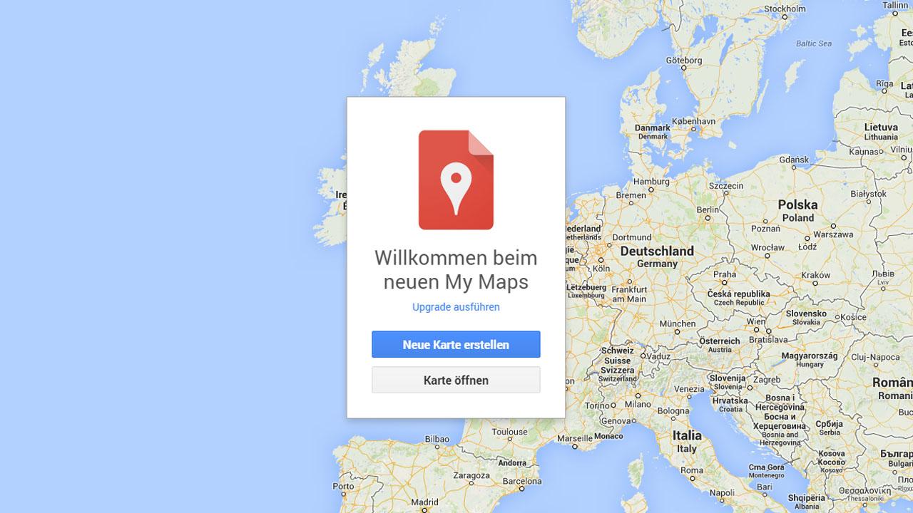 Google Maps: My Maps bringt die Funktion Meine Karten für eigene ...