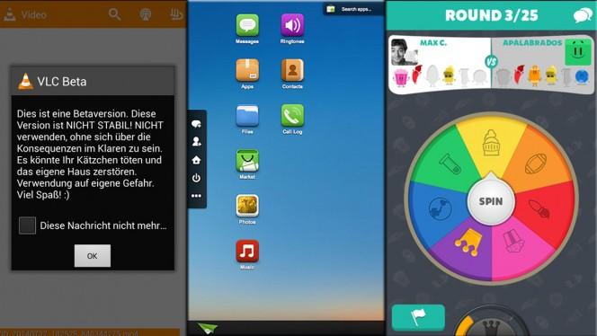 Android-Apps der Woche: VLC, komfortable Synchronisation und neues Wissens--Quiz