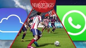 News des Tages: Mehr iCloud-Sicherheit, WhatsApp für iOS 8, FIFA 15 Demo