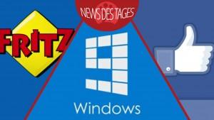 News des Tages: Windows 9 mit kostenlosem Update, FRITZ!BOX-Sicherheitslücke, Facebook Diashow
